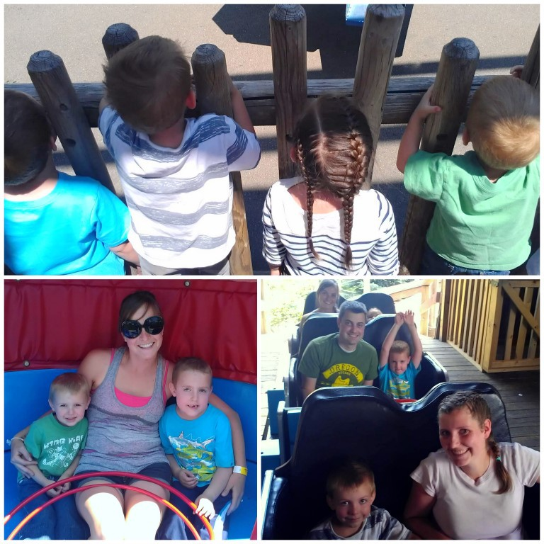Summer Road trip to Silverwood Theme Park