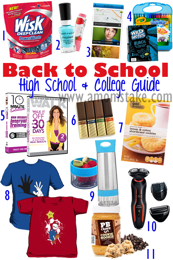 Teen College Bound Back to School Guide