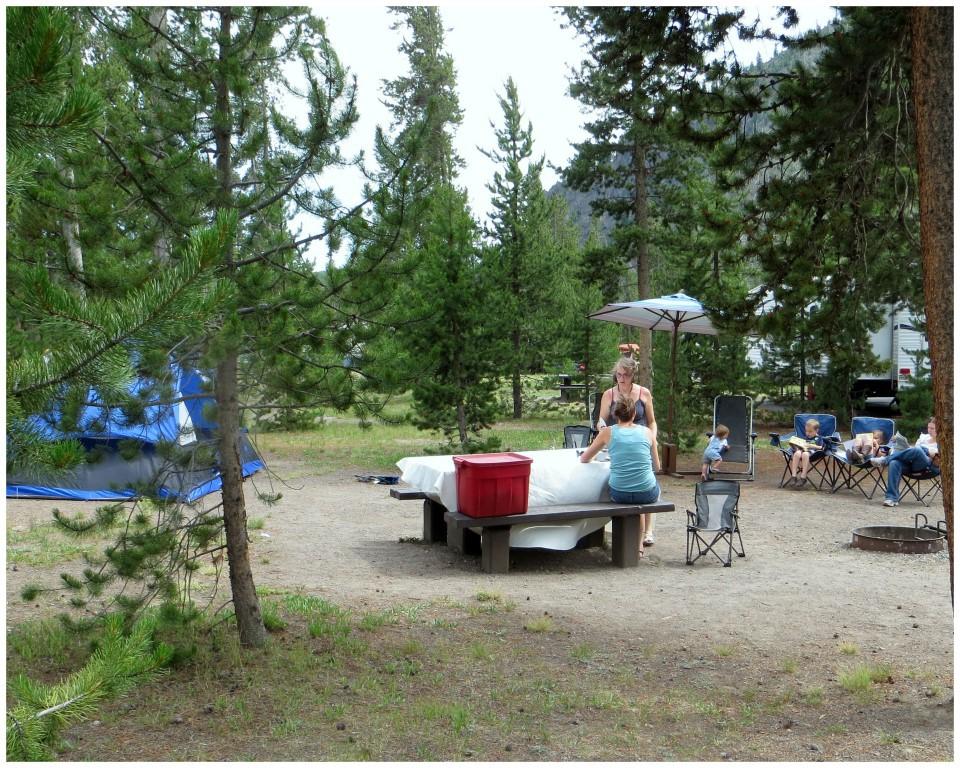 Yellowstone Madison Campground