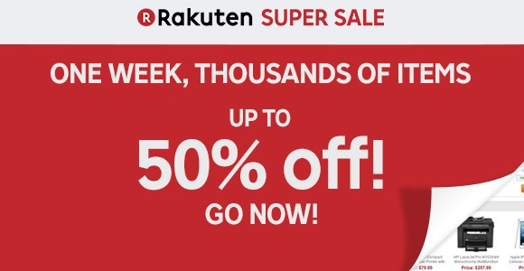 Rakuten.com Shopping super sale
