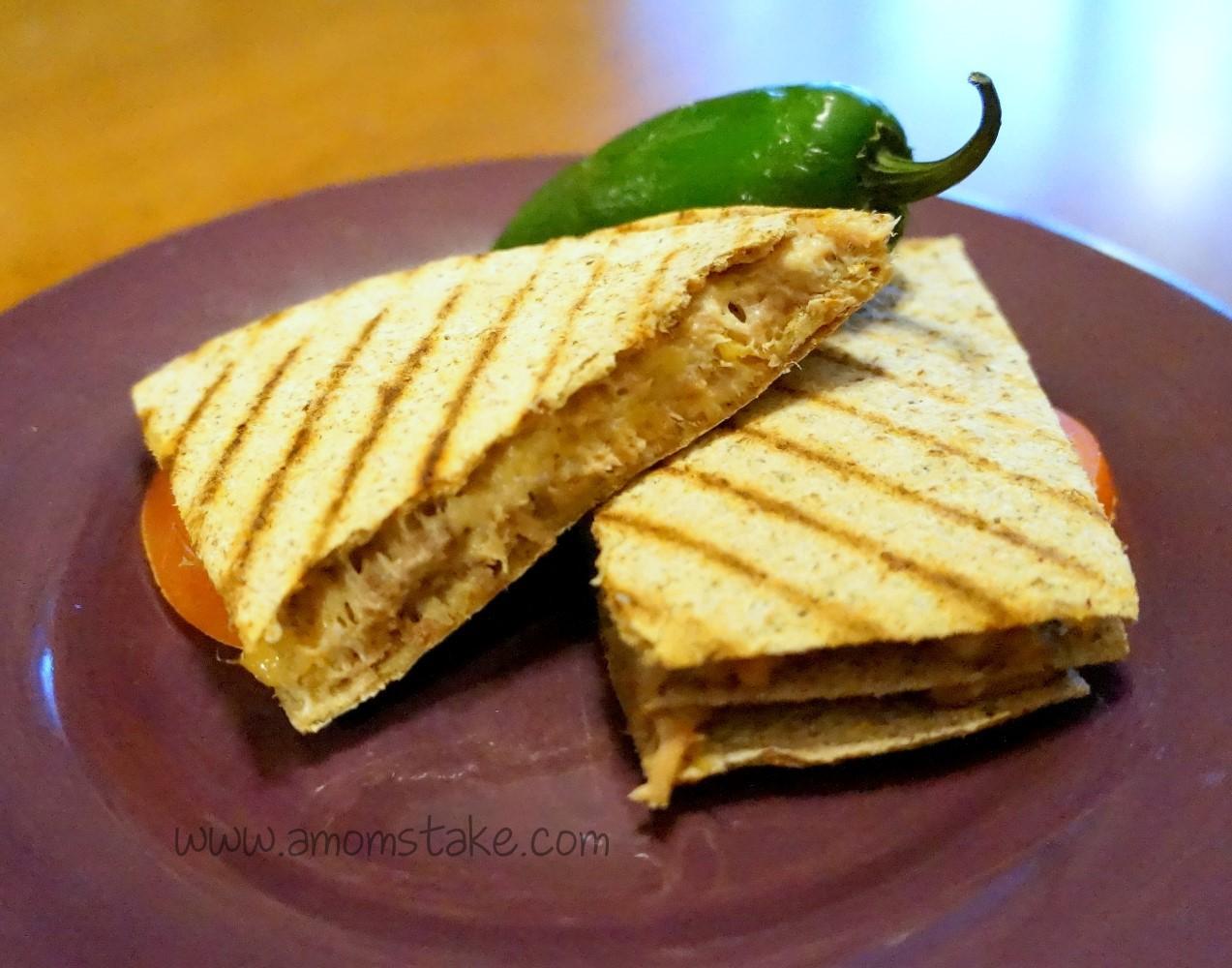Easy Dinner Recipes: Double Cheese Tuna Melt Recipe - A Mom's Take