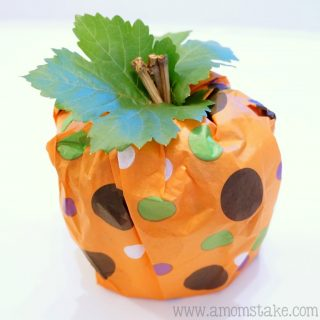 Easy Fall Decorating Ideas: Pumpkin Toilet Paper Rolls