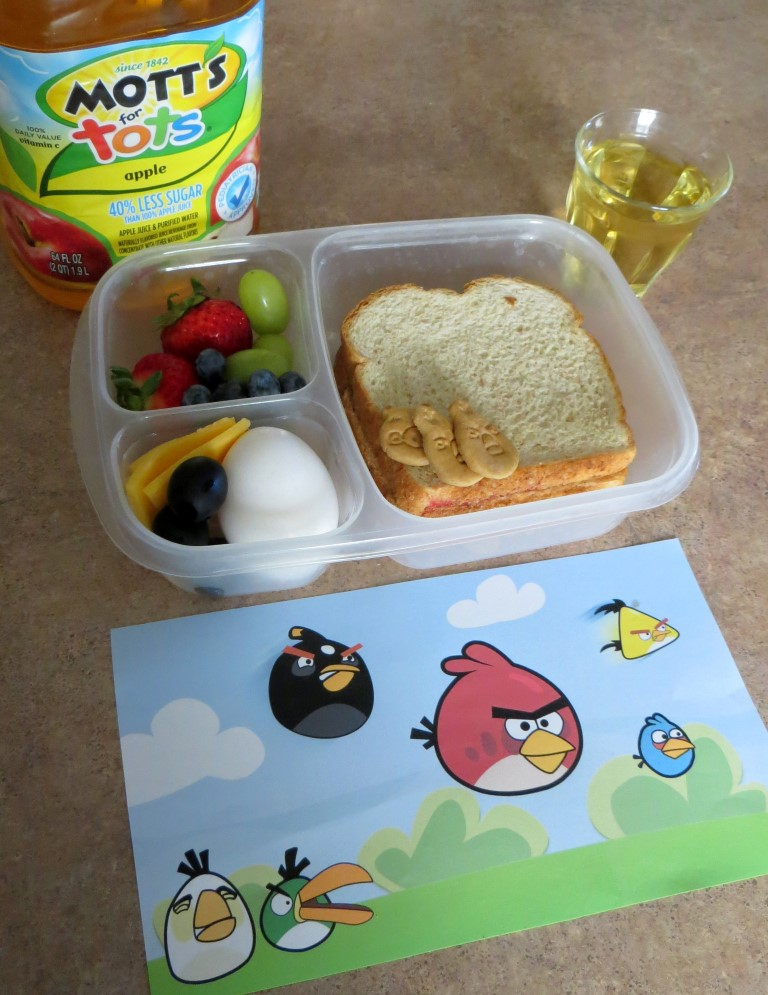 Simple Lunch Ideas Angry Bird Theme