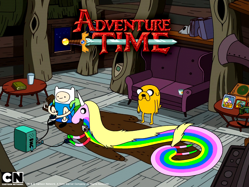 Adventure Time:  Jake the Dad
