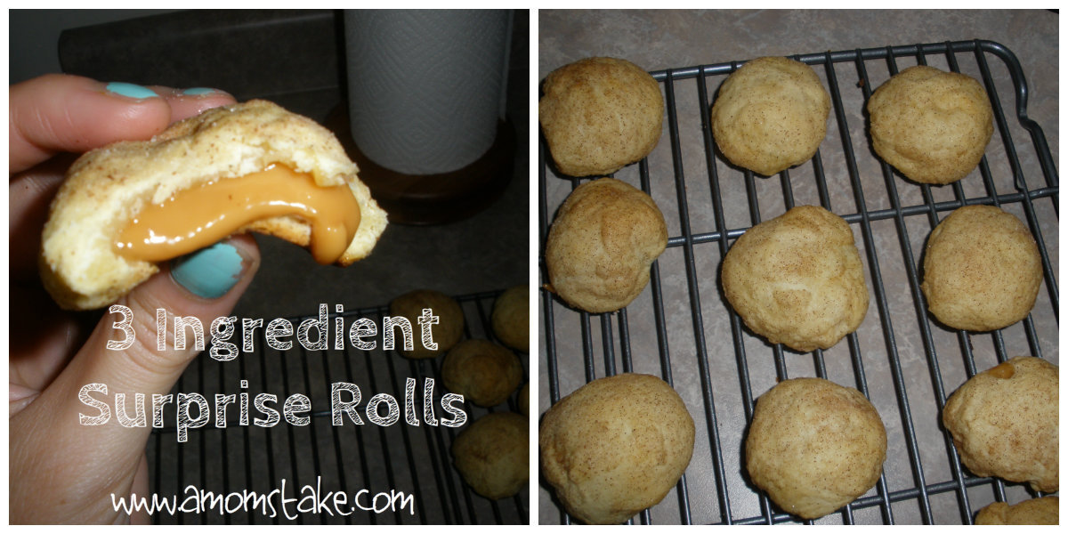 3 Ingredient Surprise Rolls