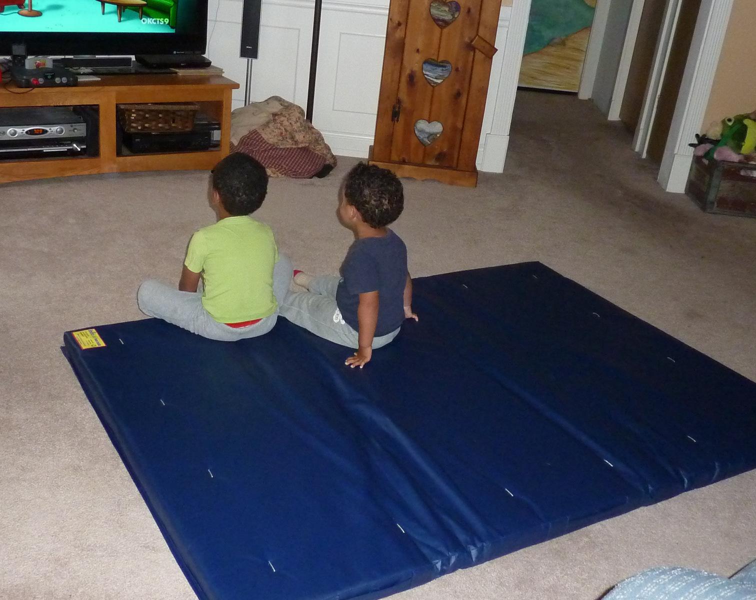 diy and dollblog gymnastics misskristi mats teaching doll mat scraft balance