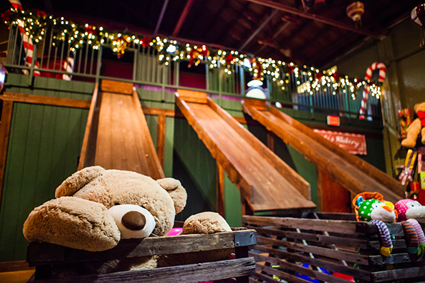 North Pole Experience: Kids can play in Santa's workshop. Families can visit Santa's workshop without leaving the state at this popular holiday attraction in Flagstaff.