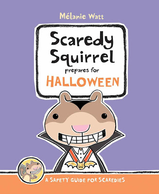 Scaredy Squirrel for Halloween