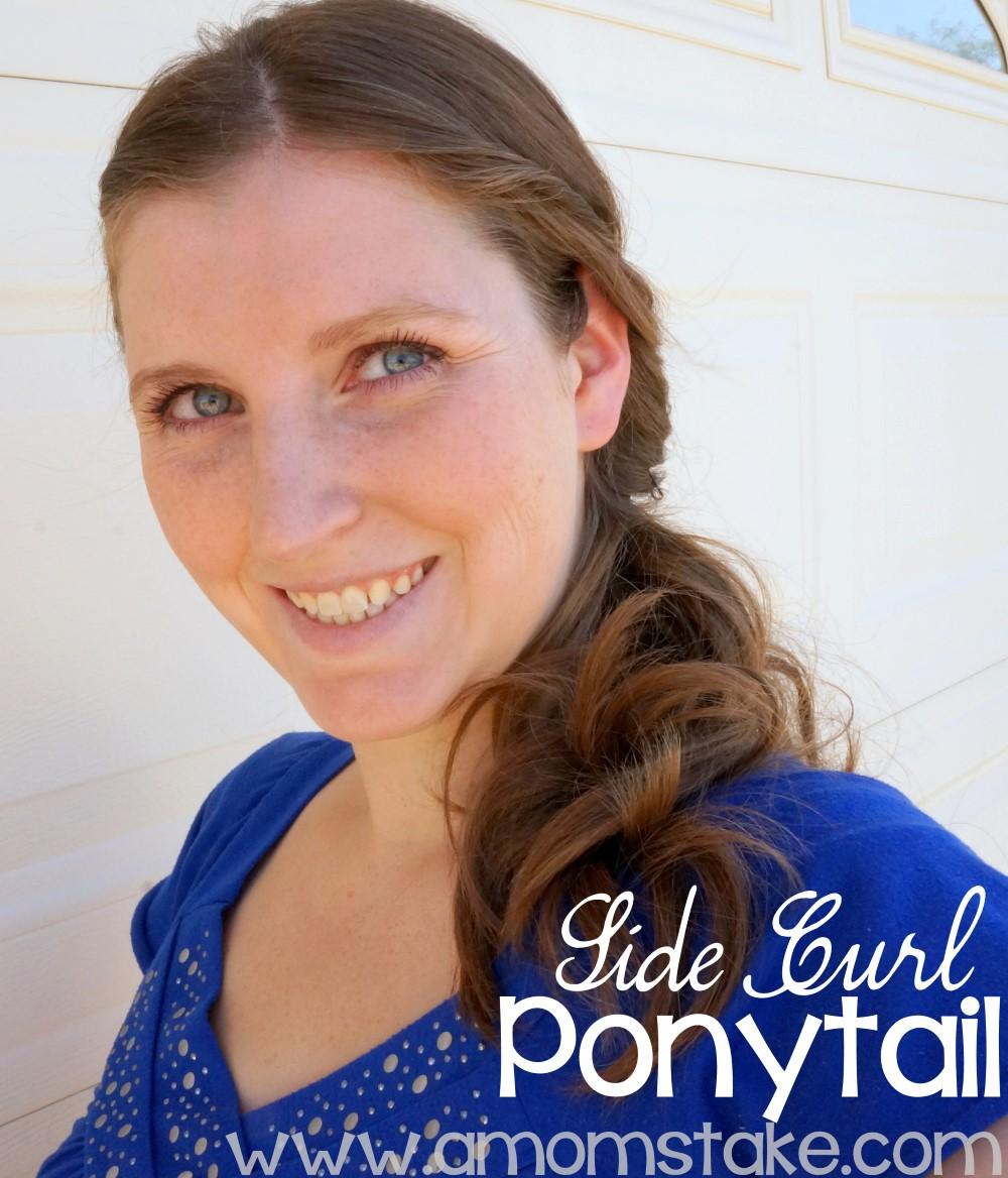 Side Curls Ponytail #shop