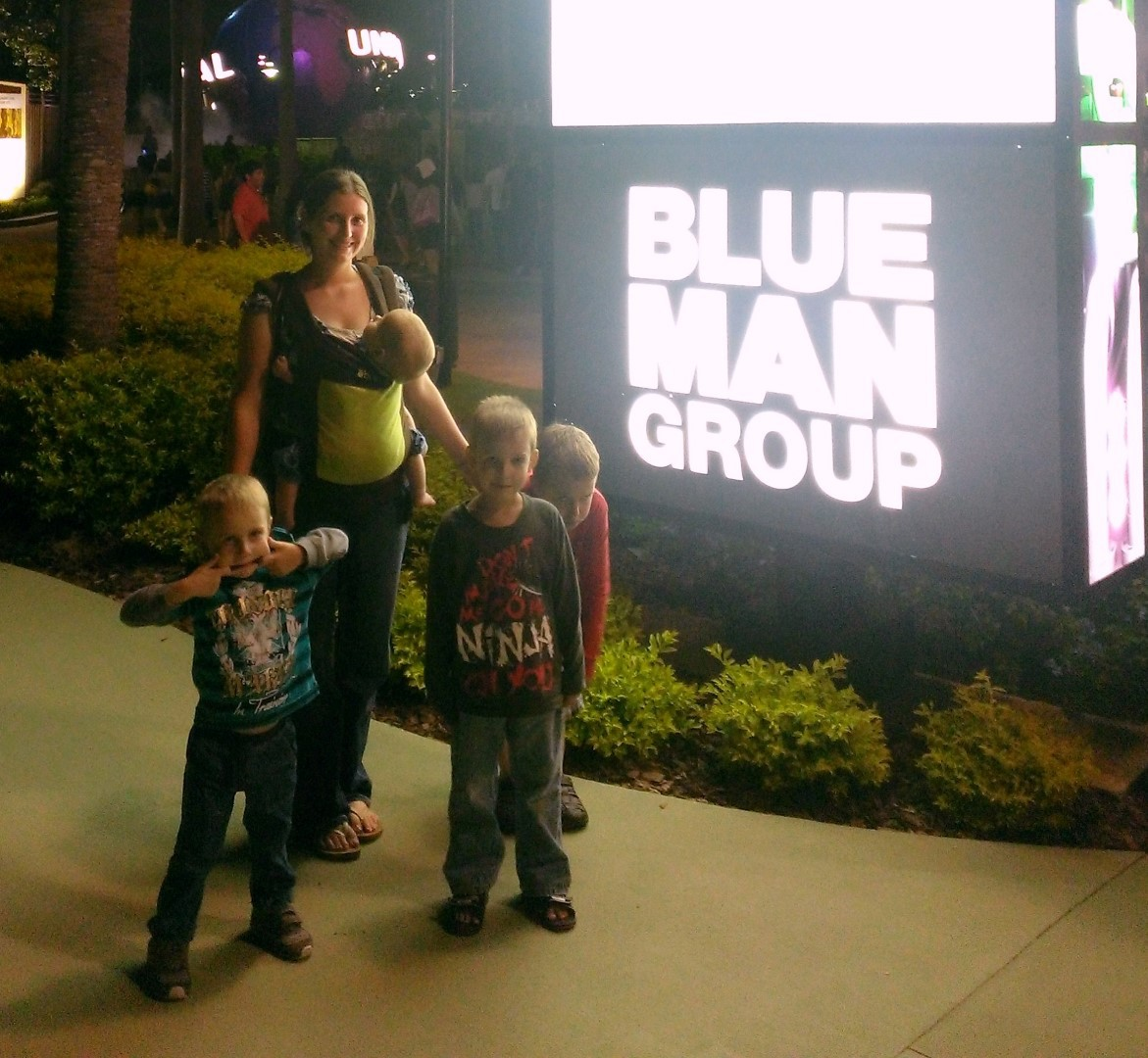 After Blue Man Group