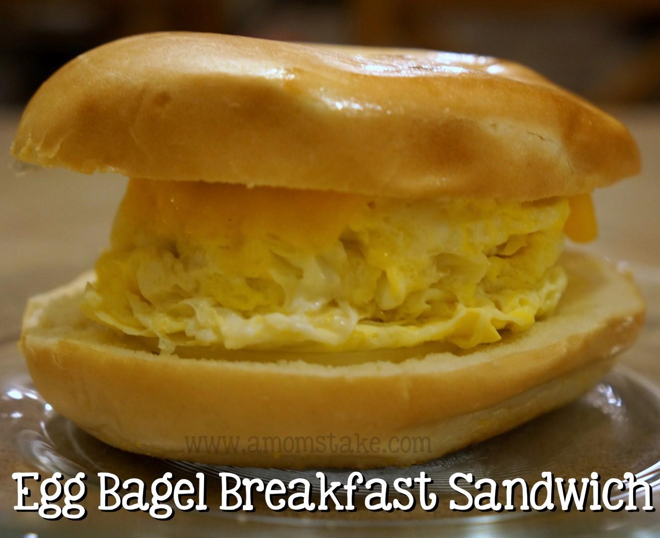 Easy Breakfast Sandwich Prep