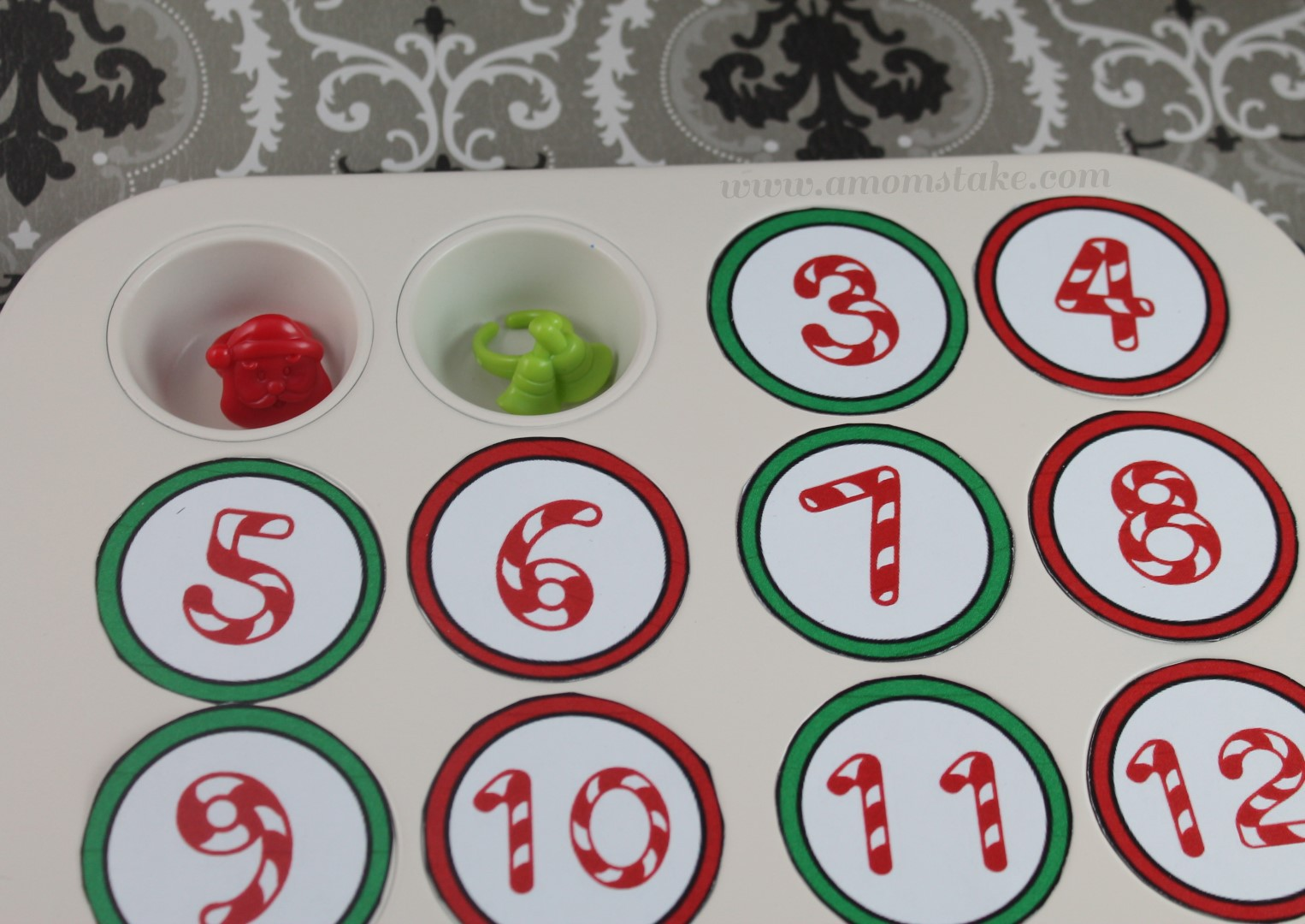Diy Advent Calendar Muffin Tin : Holiday craft ideas diy advent for kids a mom s take
