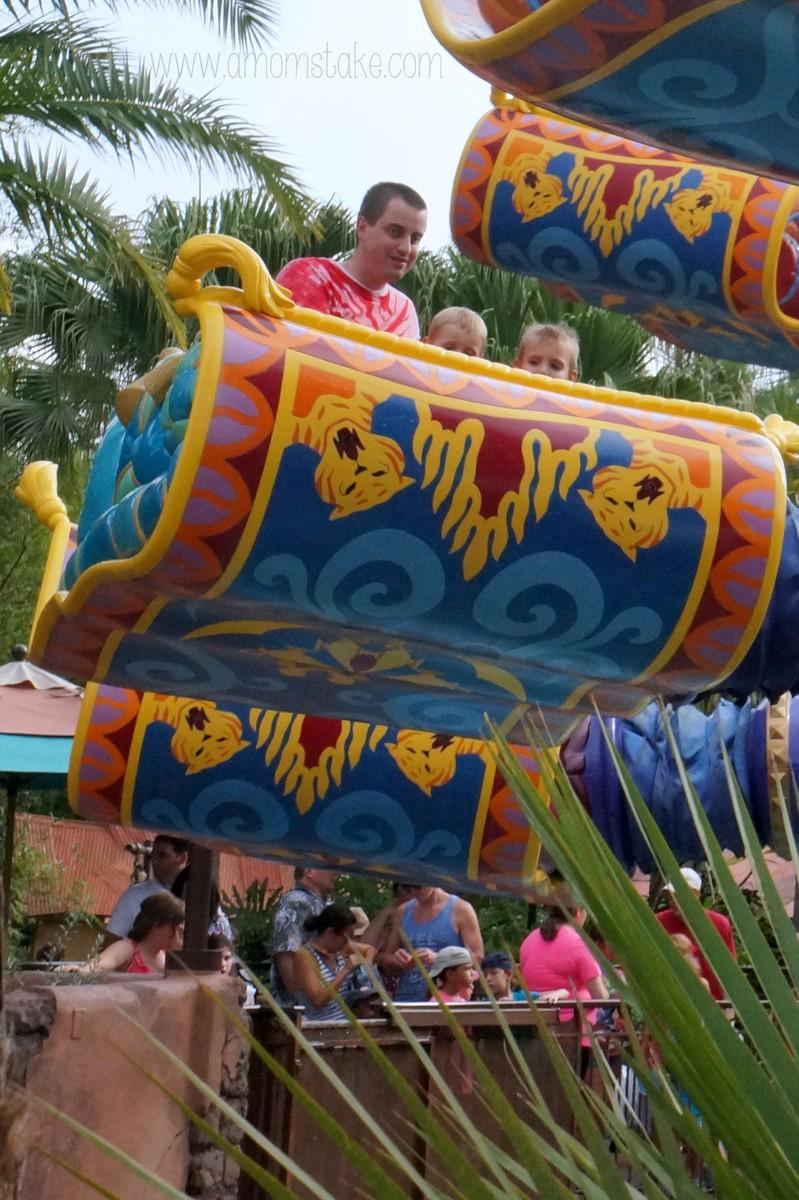 Aladdin Carpet Ride Magic Kingdom Floor Matttroy