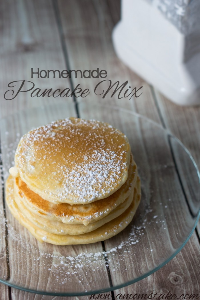 Super simple, and full of flavor, this simple homemade pancake mix is certain to delight your taste buds!