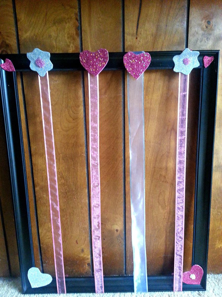 DIY Easy Ribbon Bow Board