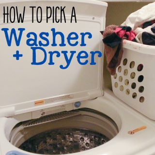 How to Pick a Washer and Dryer set!