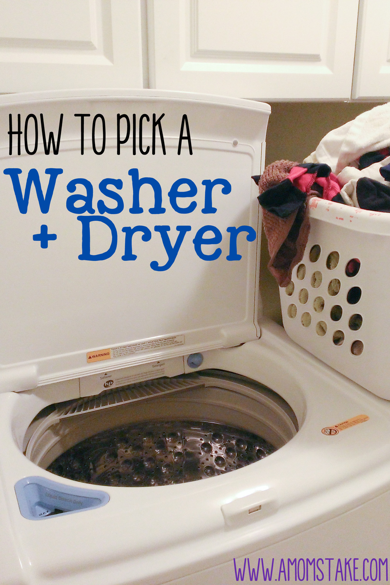How To Pick A Washer And Dryer Set