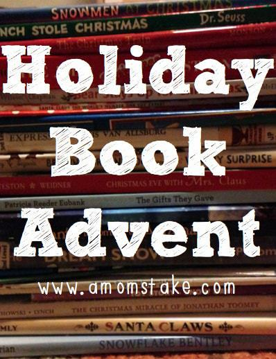 holiday book advent