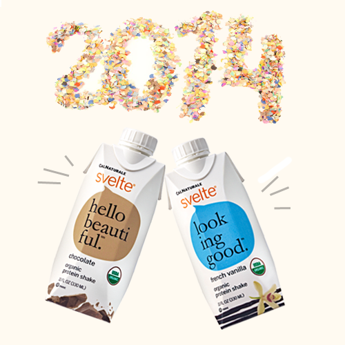 Protein Shakes Needed: A New Year, A New You With Svelte Protein Shakes