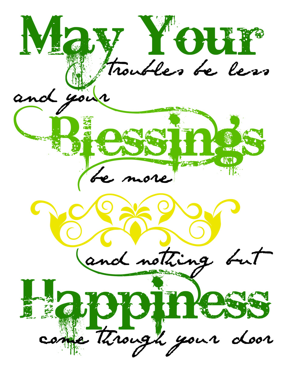 Irish Wedding Quotes: Irish Blessing Printable Art
