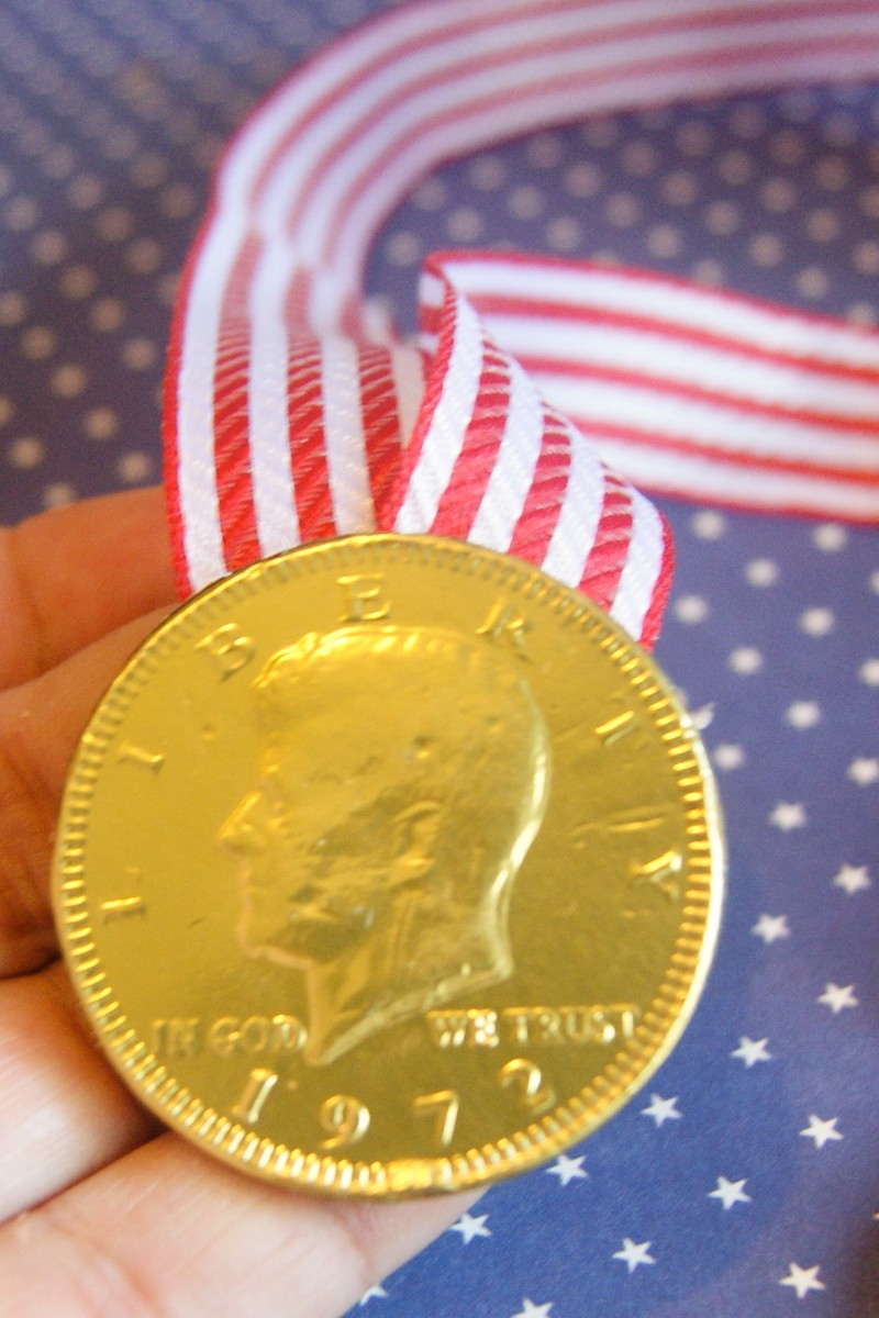 Olympic Gold Medal for Kids