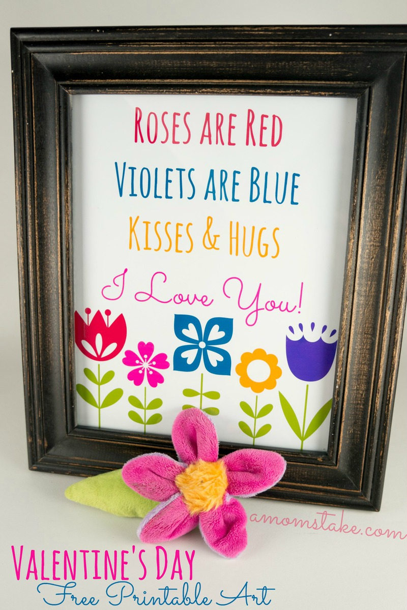 Roses Are Red Printable Art