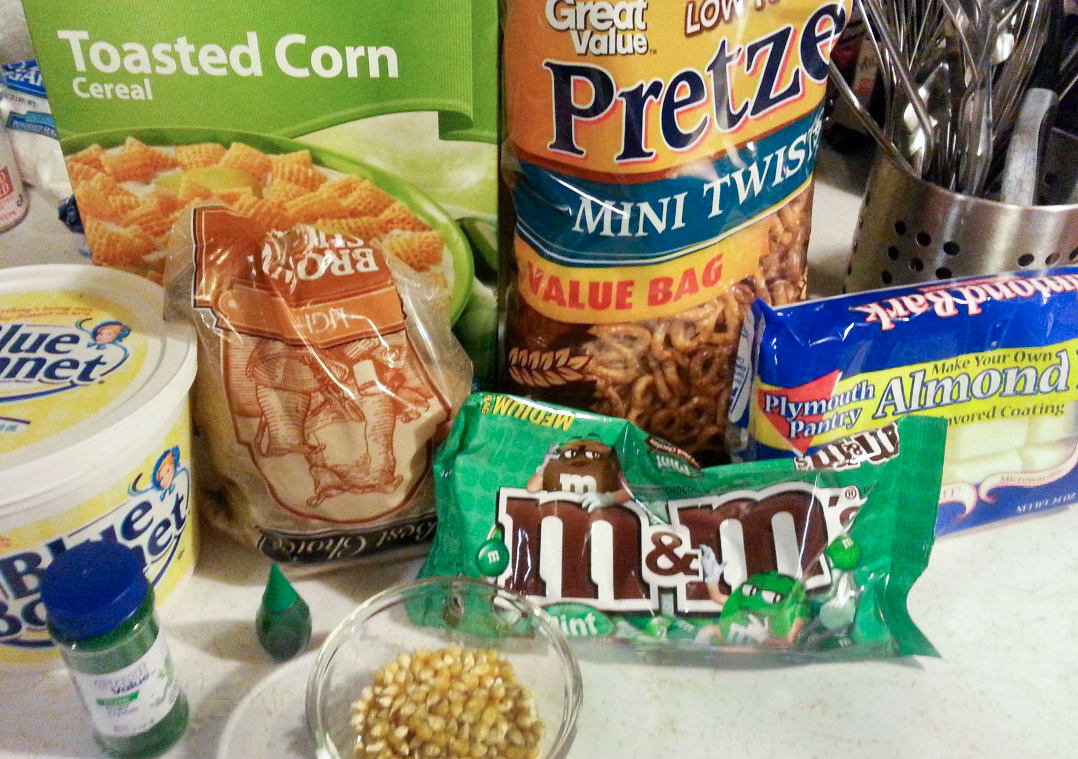 Snack Mix Ingredients
