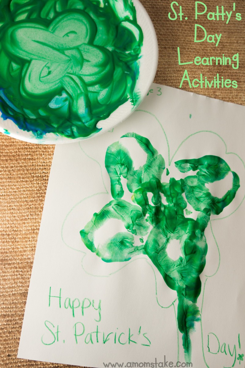 St. Patty's Day Learning Activities