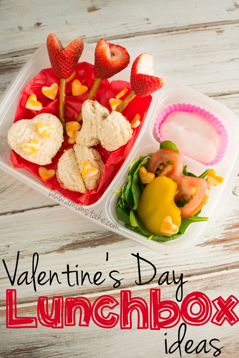 Kids Valentine's Day Lunch Box Ideas