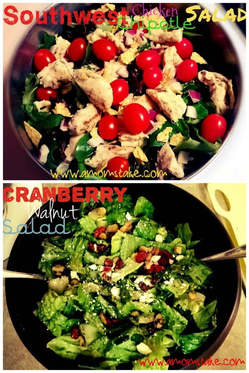 2 Unique and healthy salad recipes