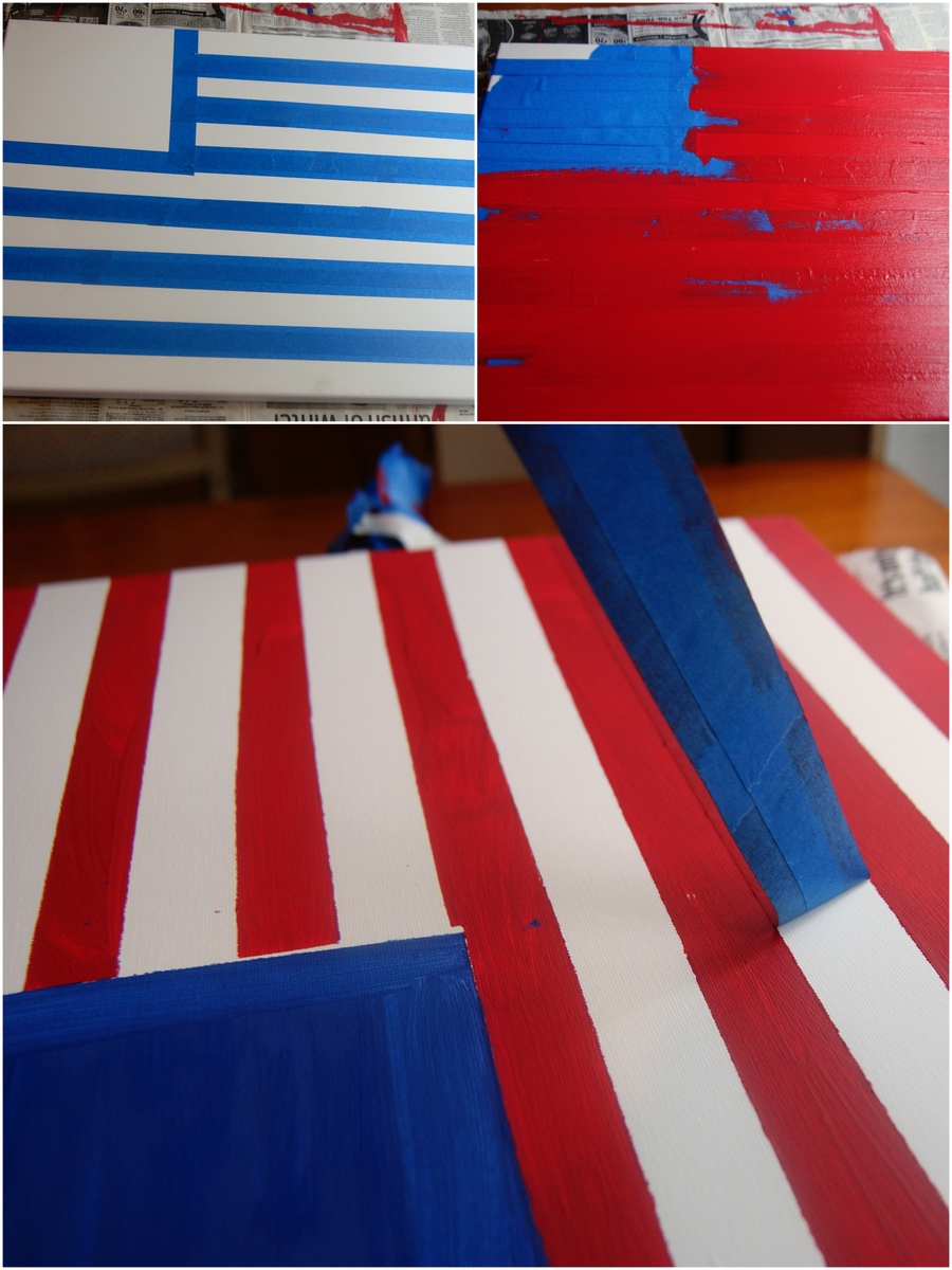 Canvas Flag Stripes