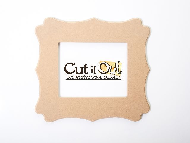 modern wood picture frames. Cut It Out Features Unfinished Decorative Wooden Cutouts; Frames, Letters, Words, Symbols, And Numbers. Decorate These Cutouts To Create Modern Home Wood Picture Frames