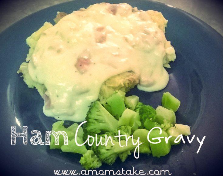 Ham Country Gravy