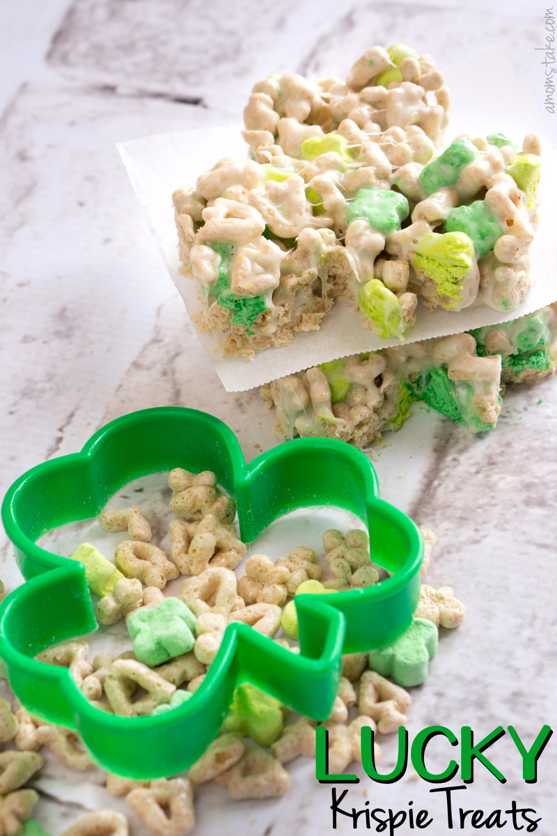Lucky Charms Krispie Treats