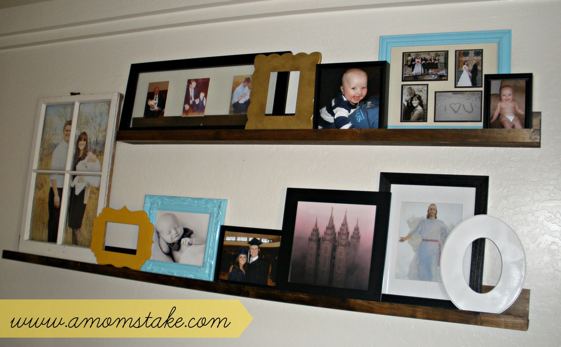 Cut it Out Wooden Frames - A Mom\'s Take