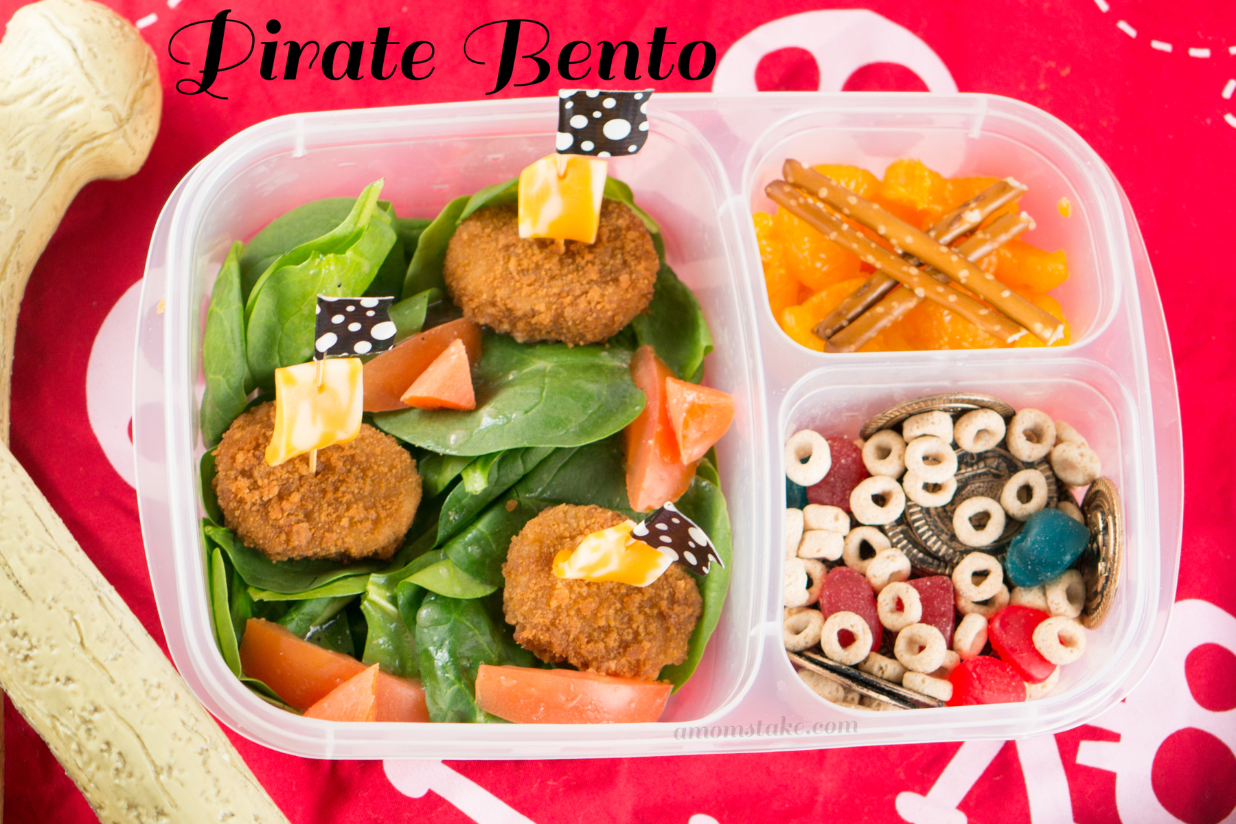 Pirate Bento Lunchbox Ideas