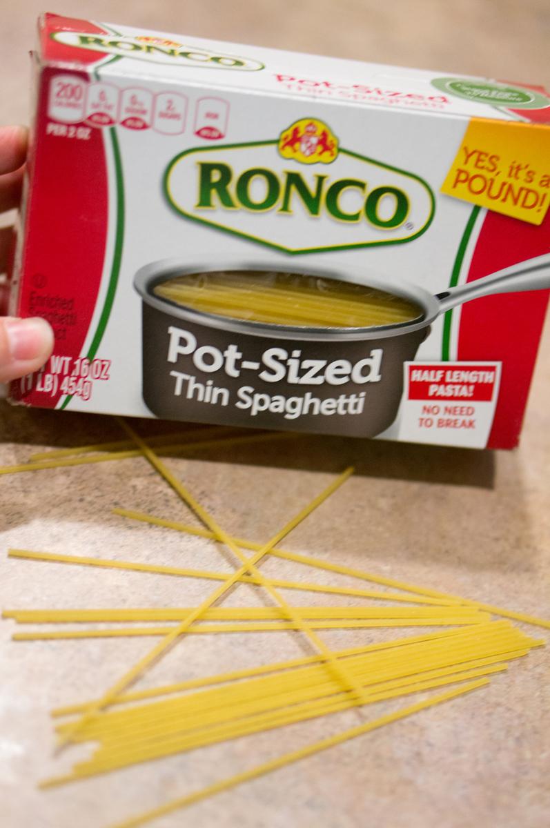 Pot Sized Pasta