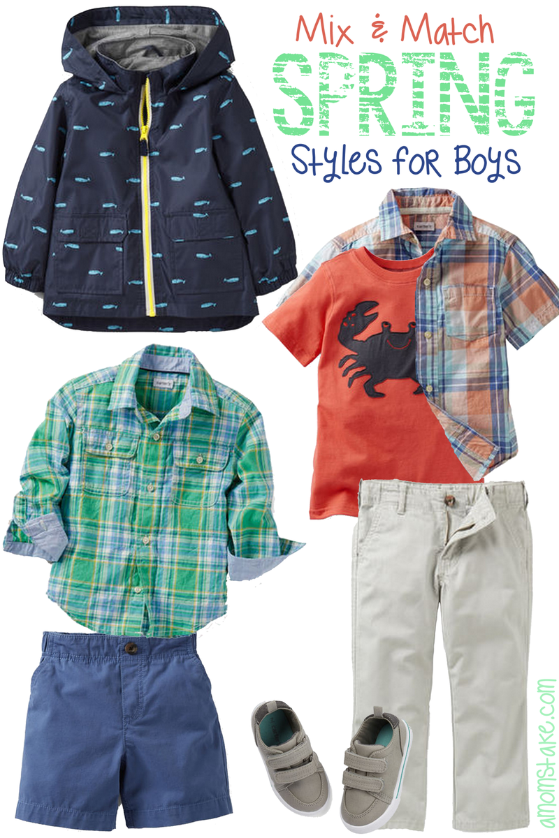 Spring Styles for Boys