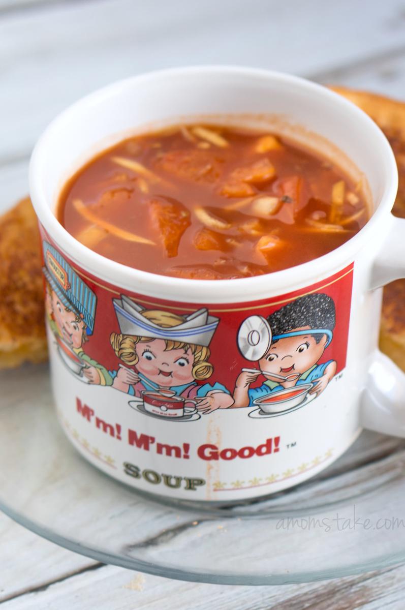 Crockpot Chunky Tomato Soup