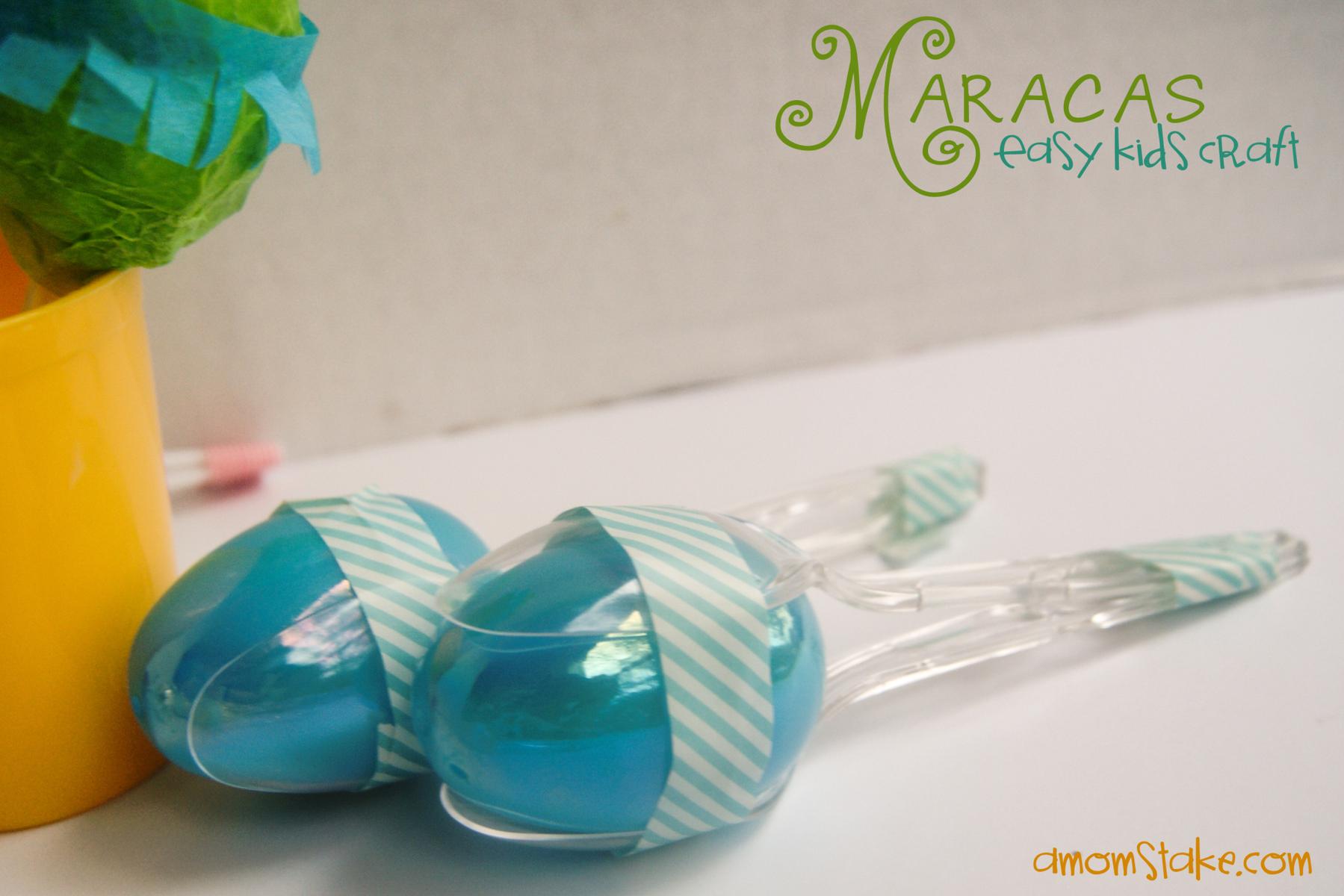Easy Maracas Craft