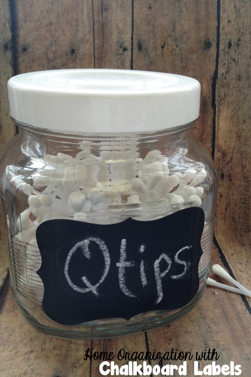 How to Organize with Chalkboard Labels