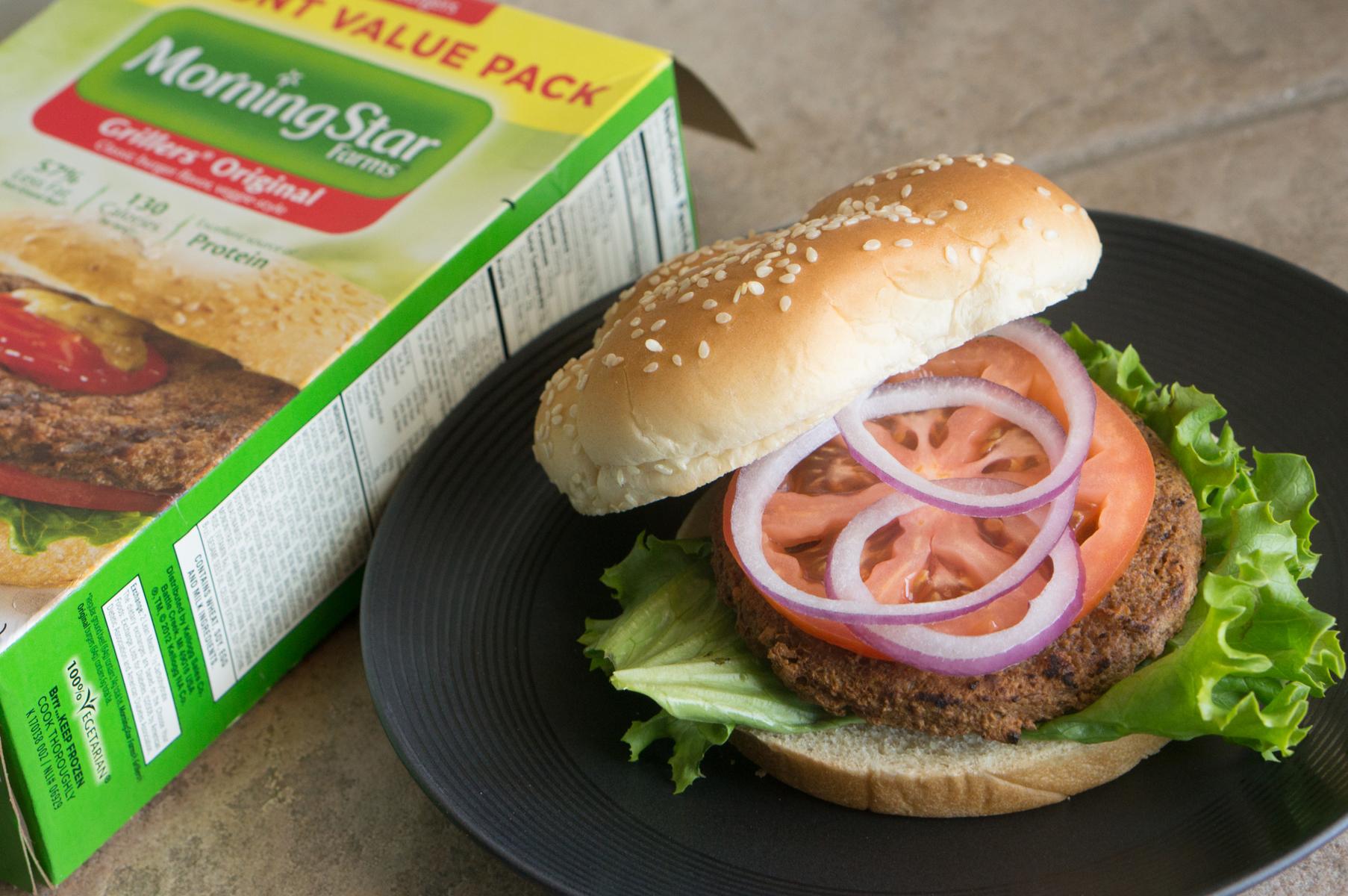 Morning Star Veggie Burger