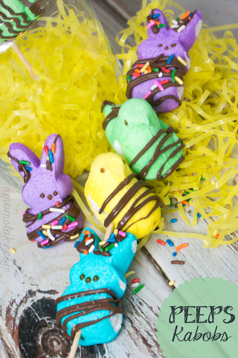 Peeps Kabobs Treats