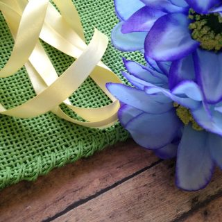 DIY No Sew Pillow for Spring