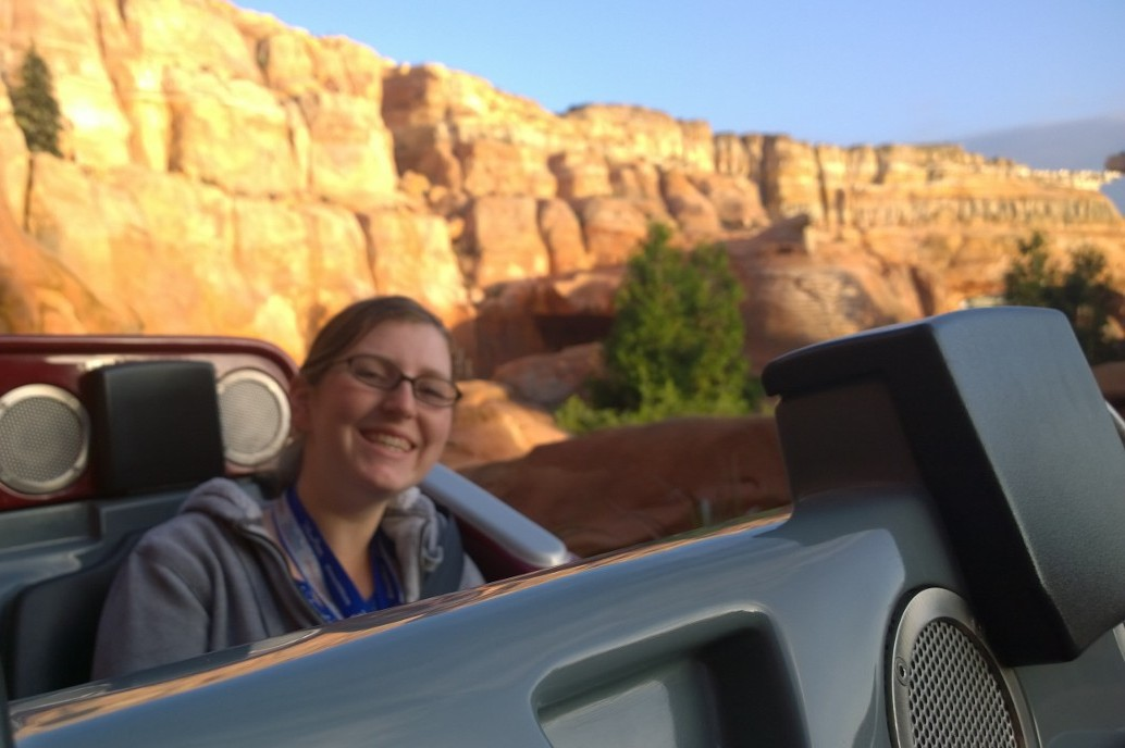 Cars Land Radiator Racers Ride