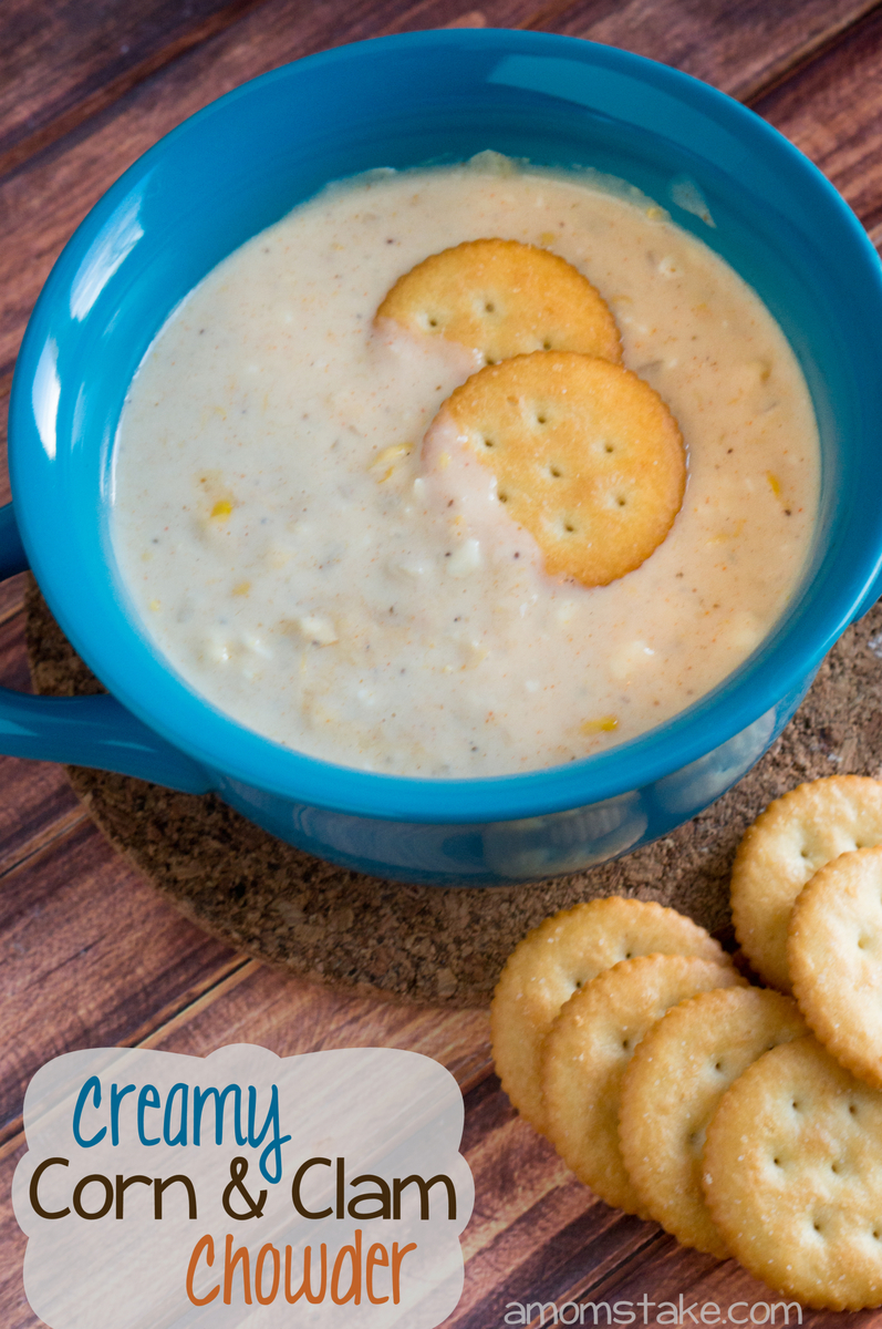 Corn and Clam Chowder recipe