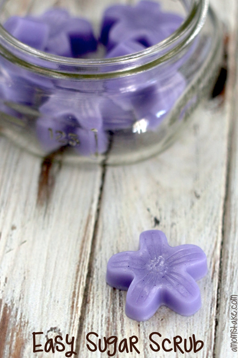 Flower Sugar Scrub