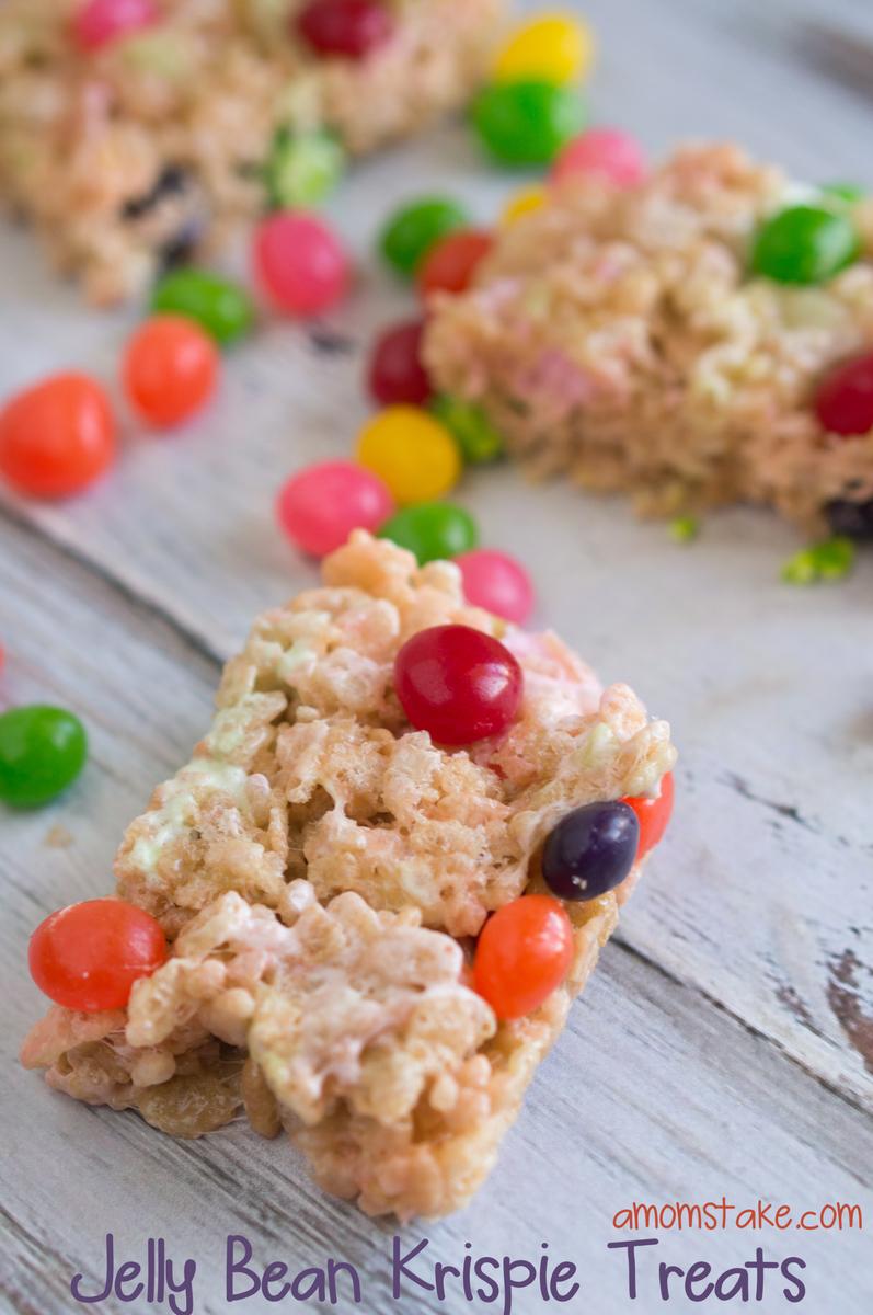 Easy Easter Rice Krispie Treats Recipe