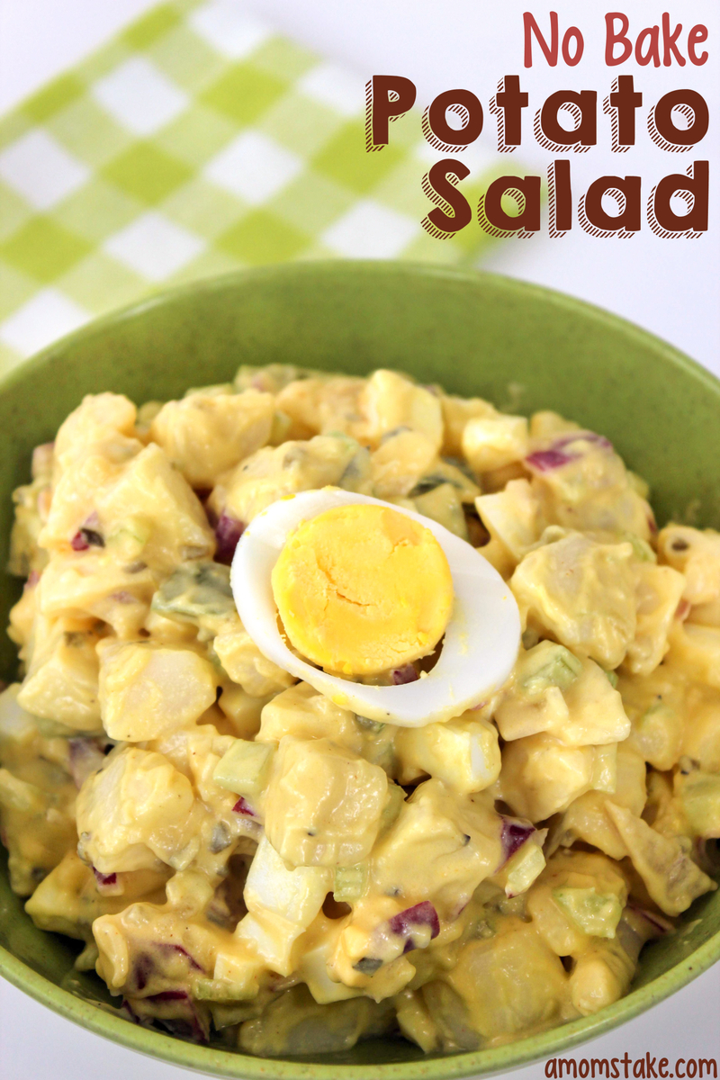 No Bake Potato Salad recipe