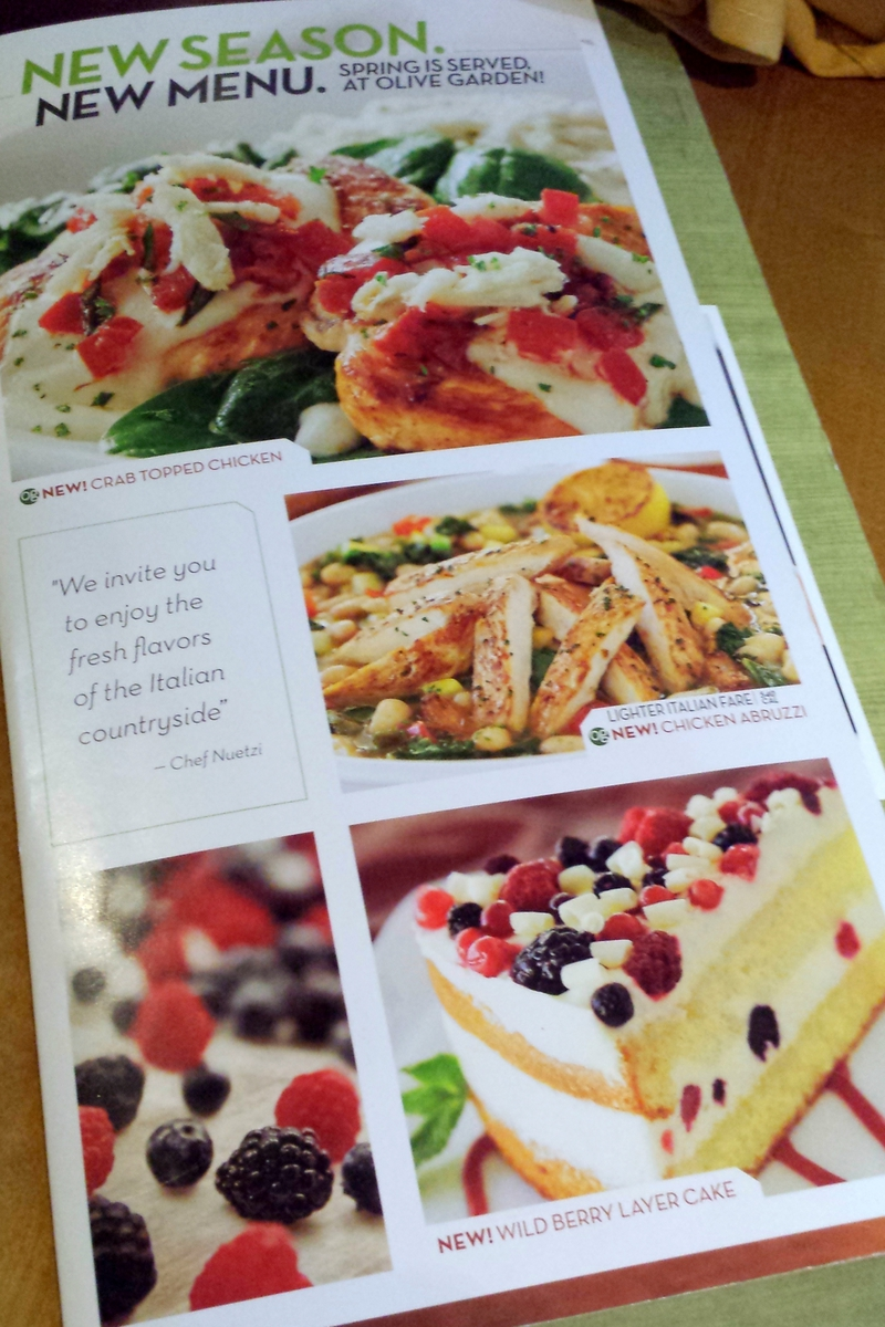 Finding New Favorites With Olive Garden 39 S New Menu A Mom 39 S Take